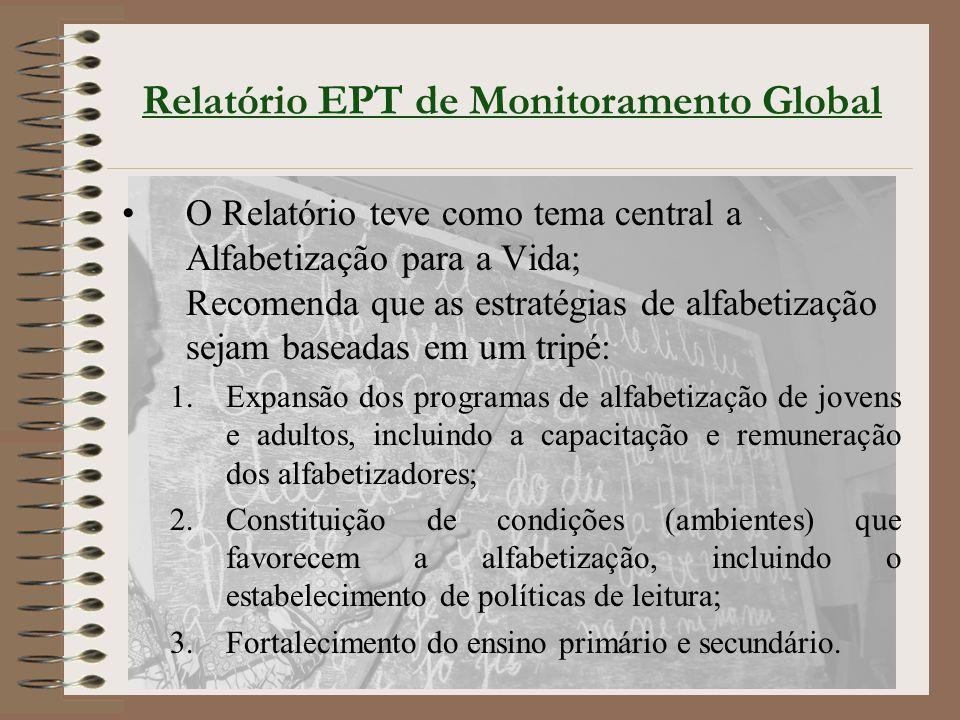 Relatório EPT de Monitoramento Global