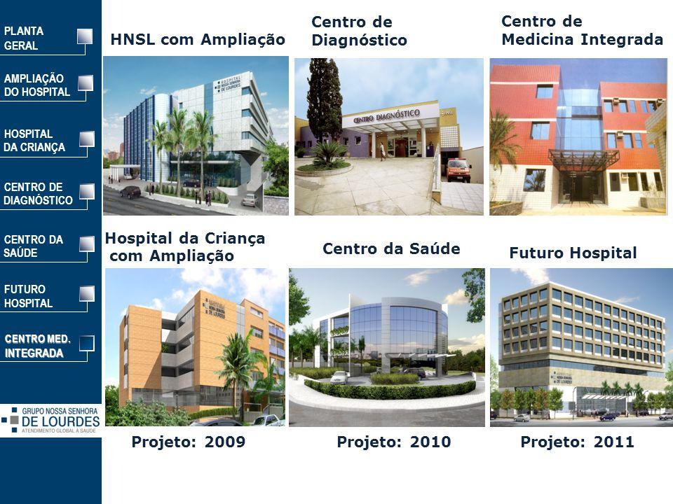 Centro de Diagnóstico HNSL com Ampliação Centro de Medicina Integrada