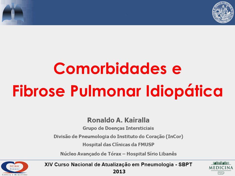 Comorbidades e Fibrose Pulmonar Idiopática