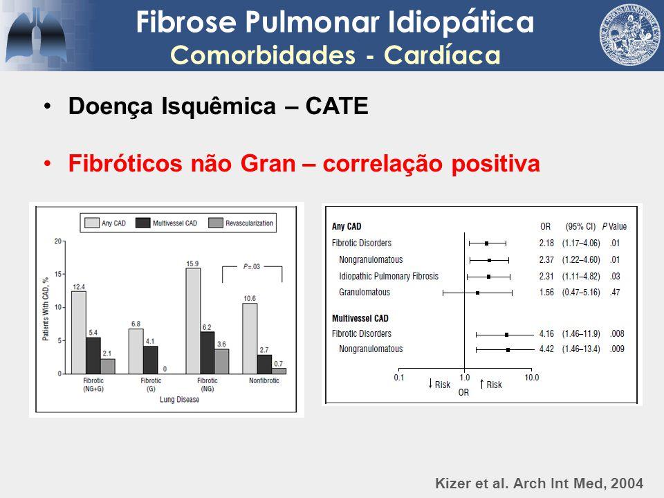 Fibrose Pulmonar Idiopática Comorbidades - Cardíaca