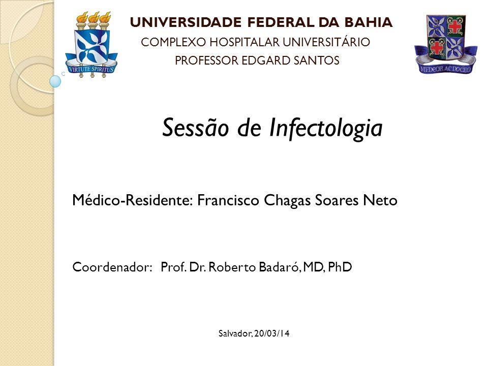 Sessão de Infectologia