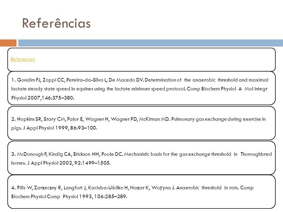 Referências References
