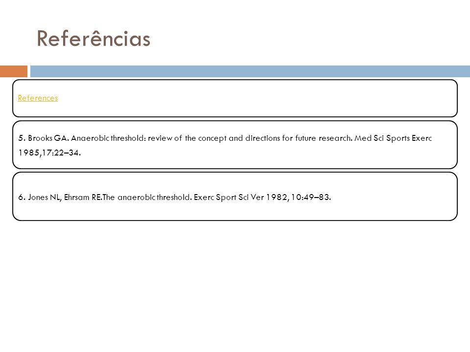 Referências References.