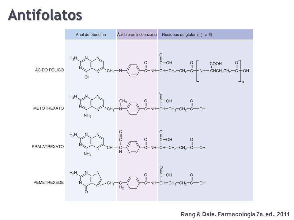 Antifolatos Rang & Dale. Farmacologia 7a. ed., 2011