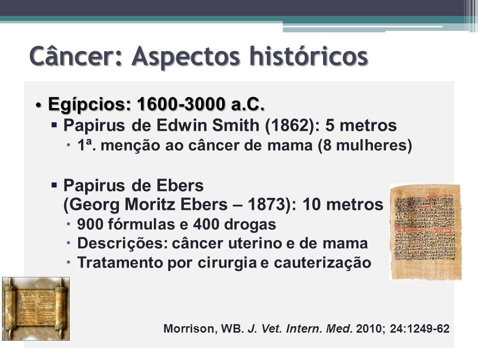 Câncer: Aspectos históricos