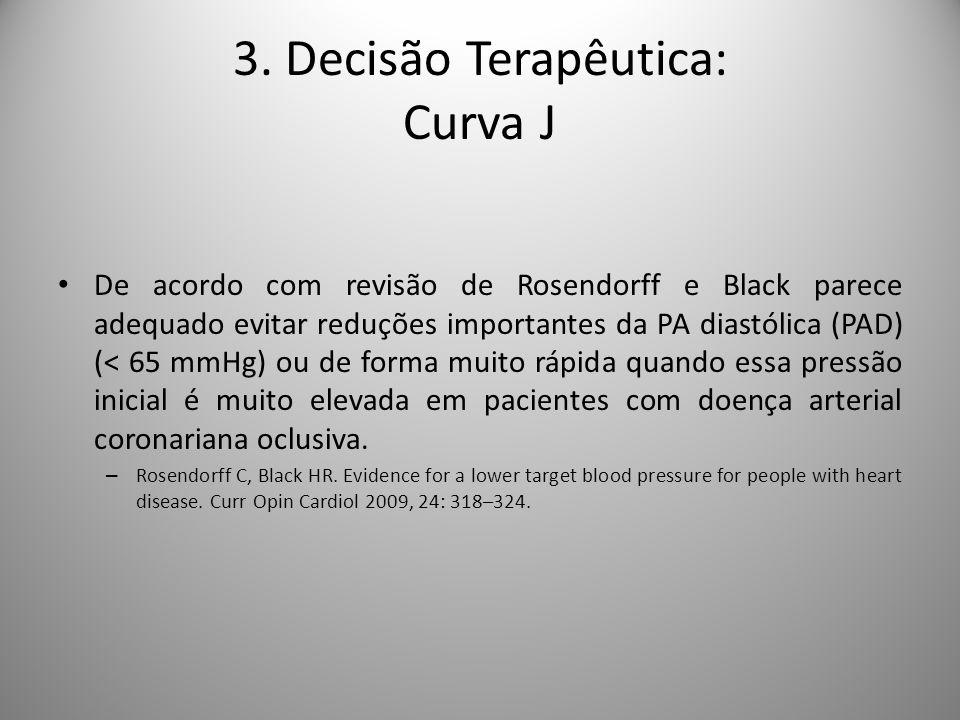 3. Decisão Terapêutica: Curva J