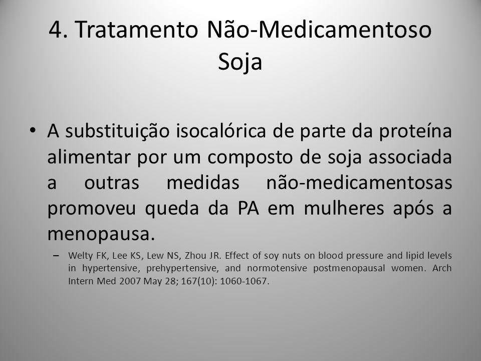 4. Tratamento Não-Medicamentoso Soja