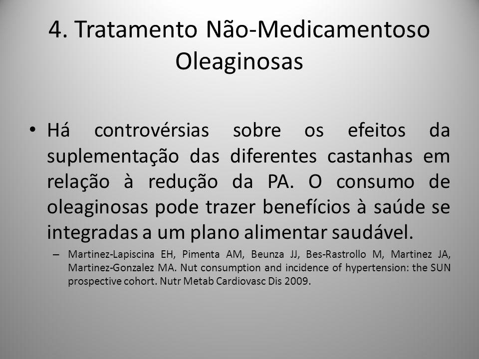 4. Tratamento Não-Medicamentoso Oleaginosas