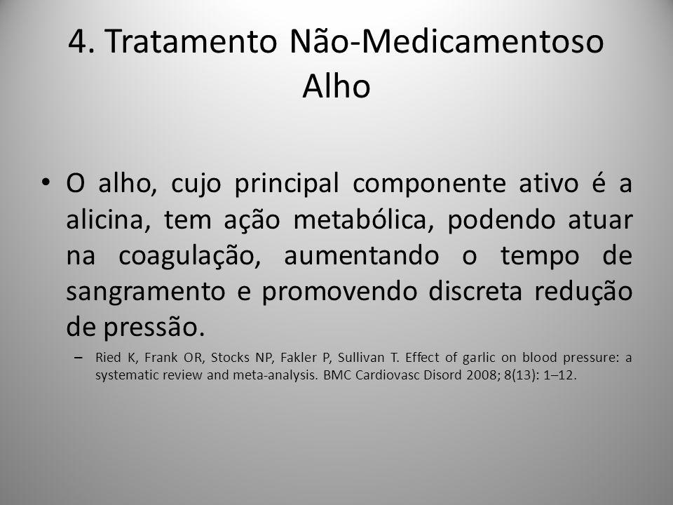 4. Tratamento Não-Medicamentoso Alho
