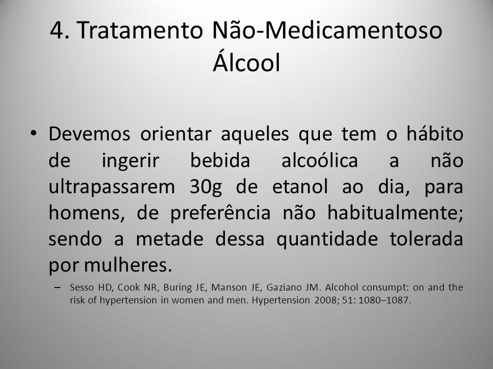 4. Tratamento Não-Medicamentoso Álcool