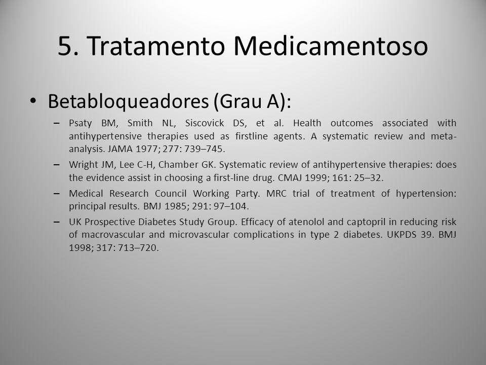 5. Tratamento Medicamentoso