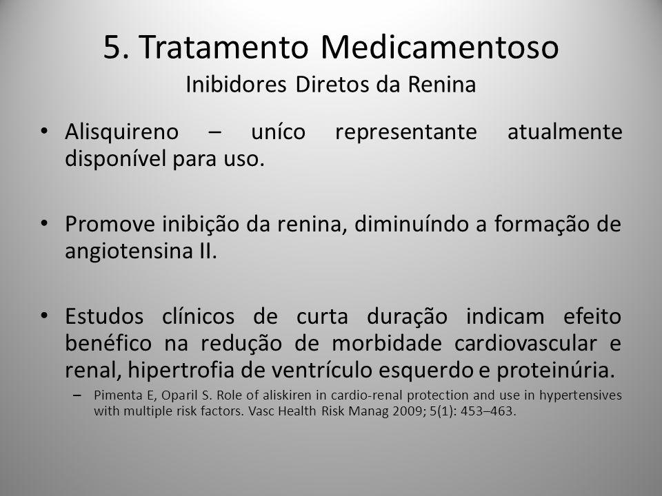 5. Tratamento Medicamentoso Inibidores Diretos da Renina