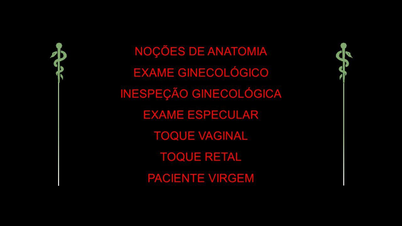 INESPEÇÃO GINECOLÓGICA
