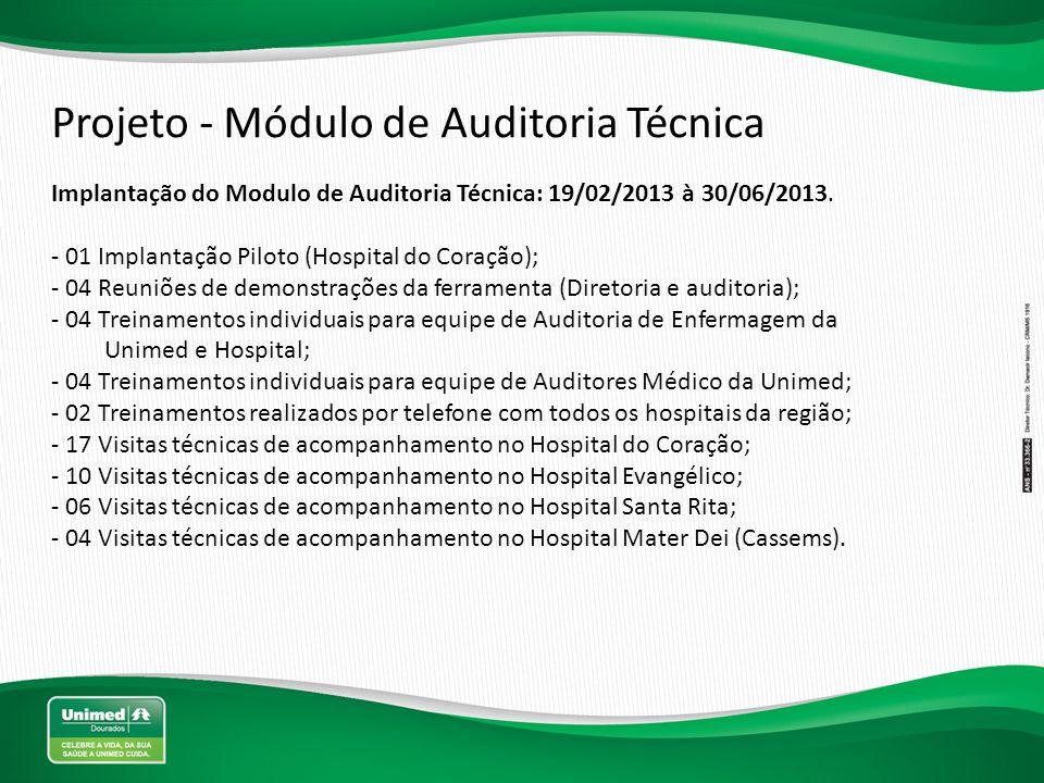 Projeto - Módulo de Auditoria Técnica