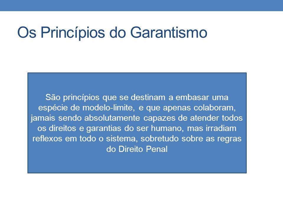 Os Princípios do Garantismo