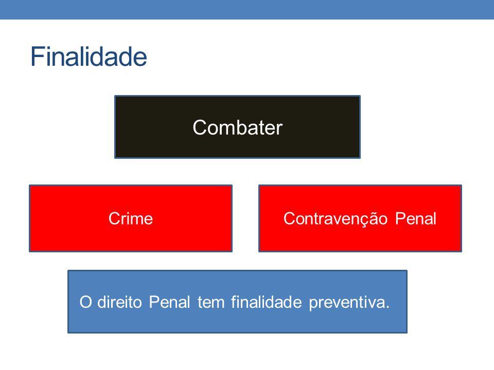 Finalidade Combater Crime Contravenção Penal