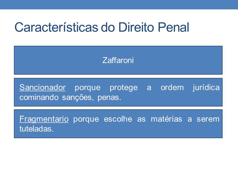 Características do Direito Penal