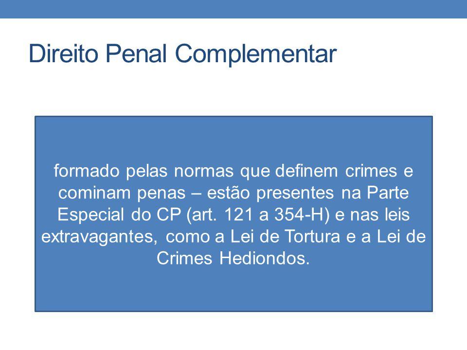 Direito Penal Complementar