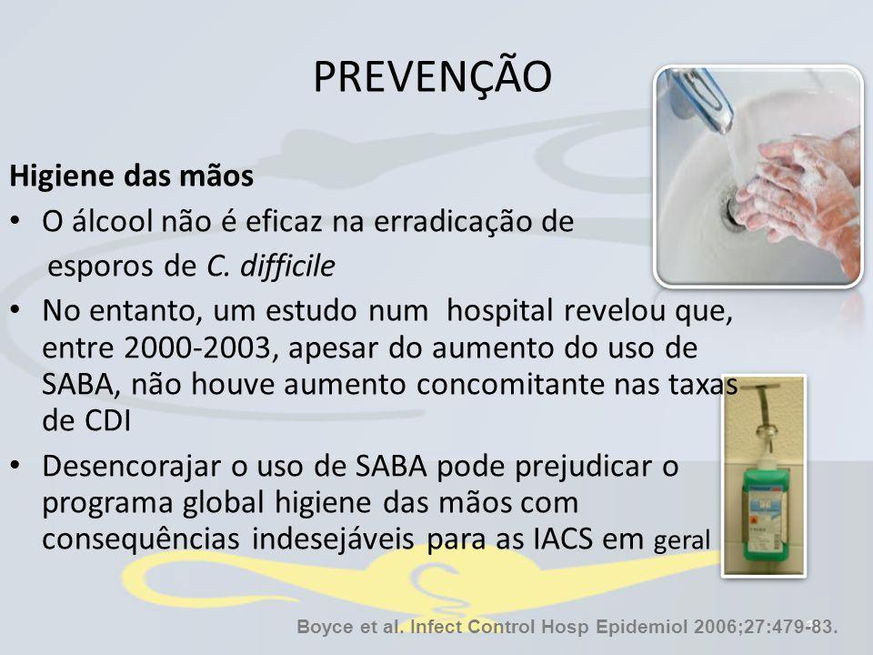 Boyce et al. Infect Control Hosp Epidemiol 2006;27:479-83.