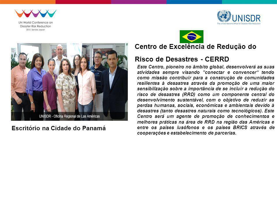 Centro de Excelência de Redução do Risco de Desastres - CERRD