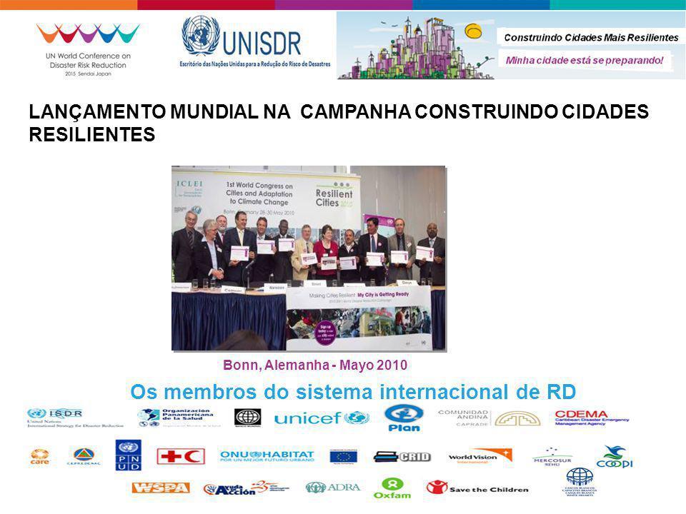 Os membros do sistema internacional de RD
