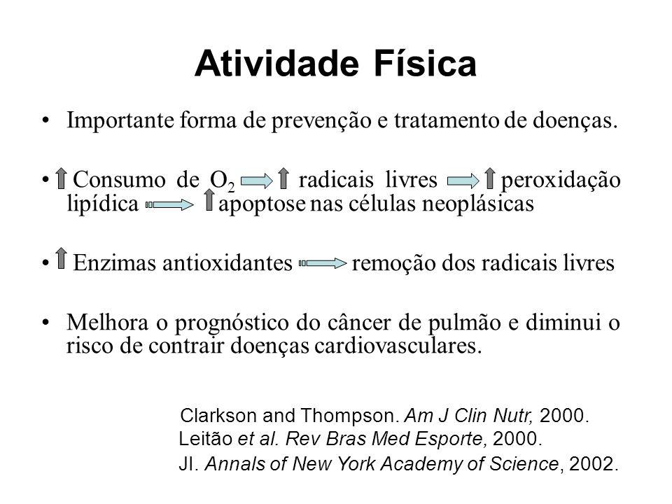 Atividade Física Importante forma de prevenção e tratamento de doenças.