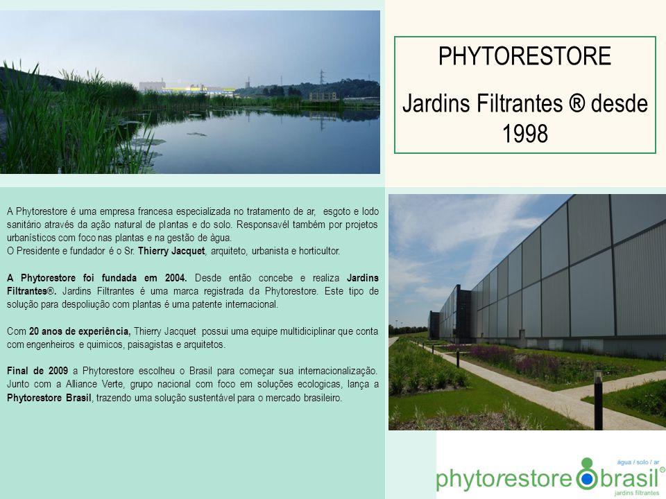 Jardins Filtrantes ® desde 1998