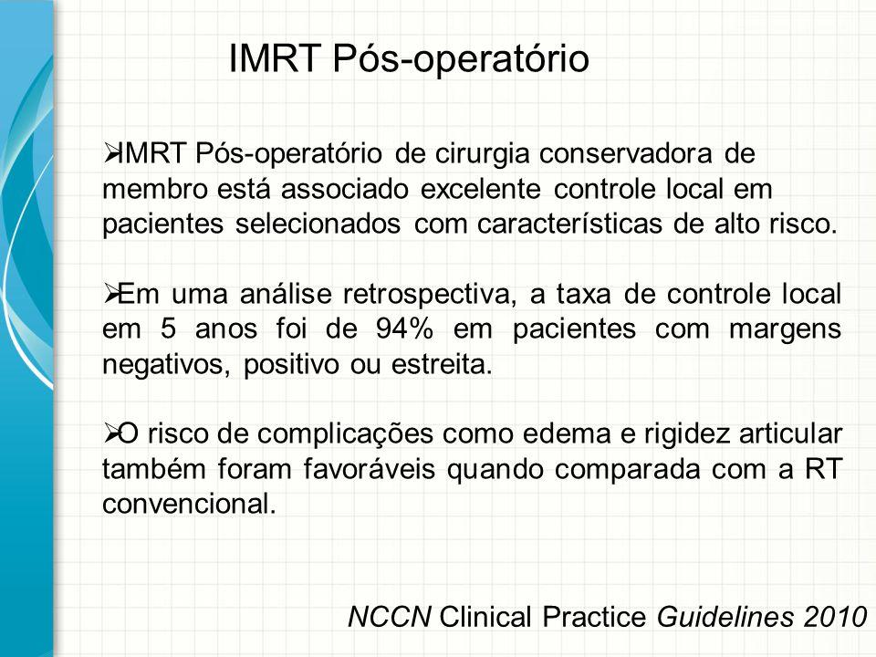 IMRT Pós-operatório