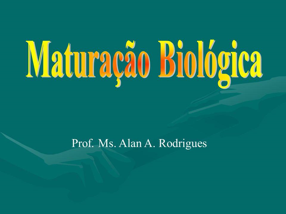 Maturação Biológica Prof. Ms. Alan A. Rodrigues