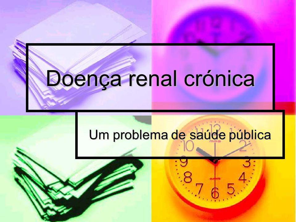 Um problema de saúde pública