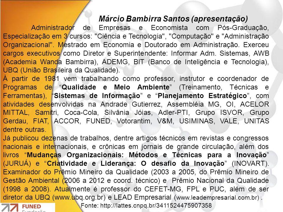 Márcio Bambirra Santos (apresentação)