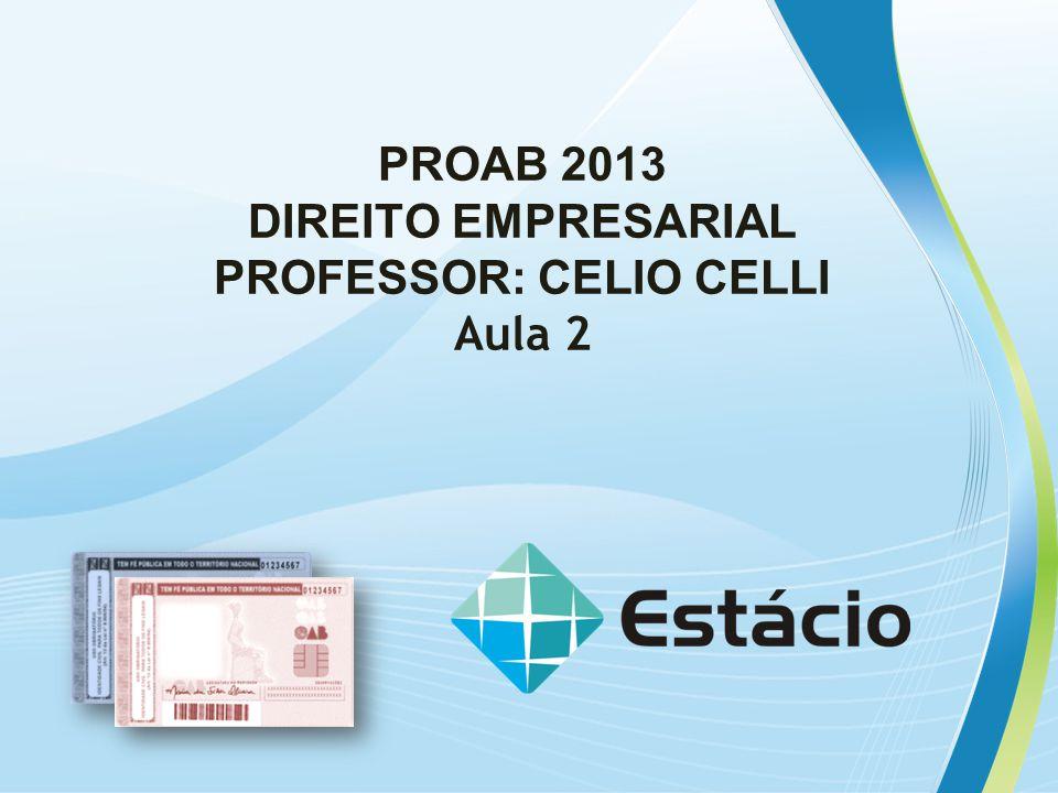 PROFESSOR: CELIO CELLI