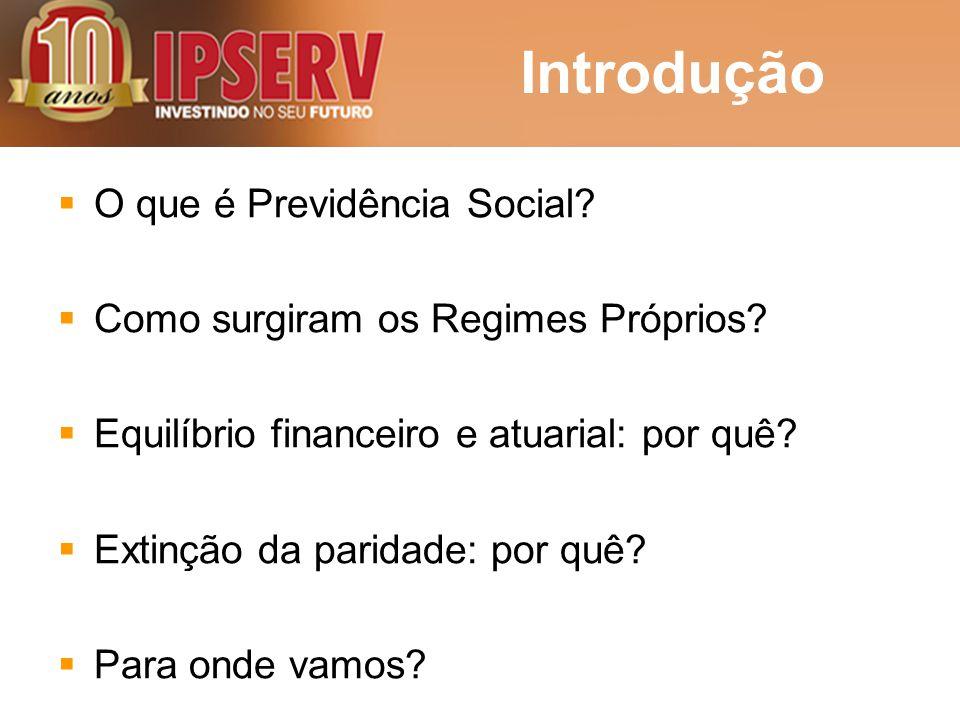 Introdução O que é Previdência Social