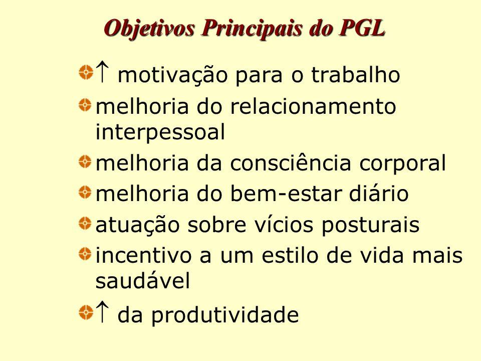Objetivos Principais do PGL