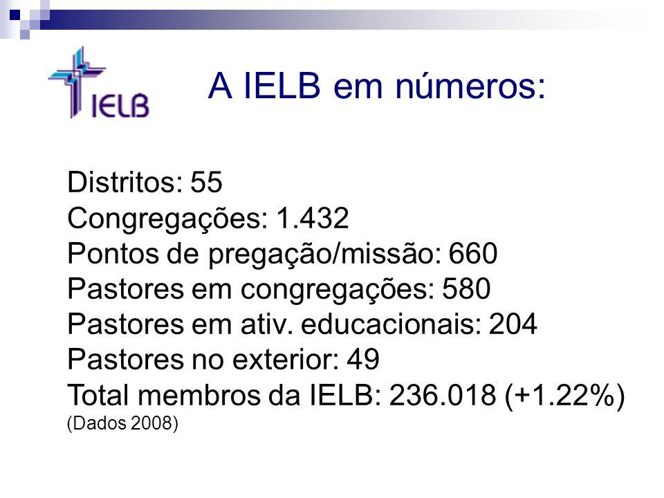 A IELB em números: