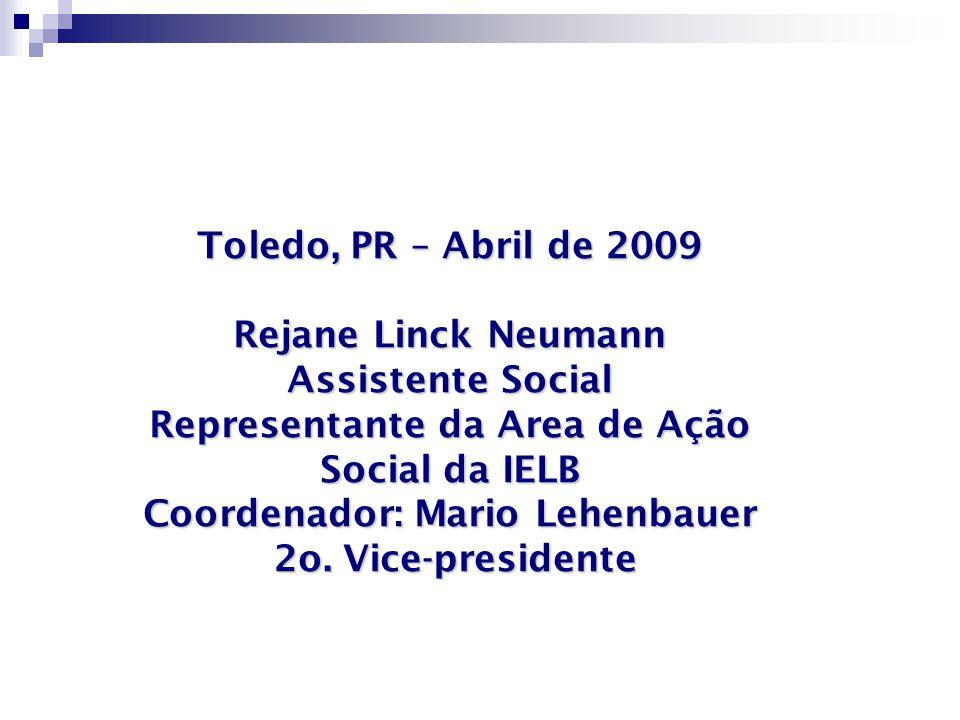 Representante da Area de Ação Social da IELB