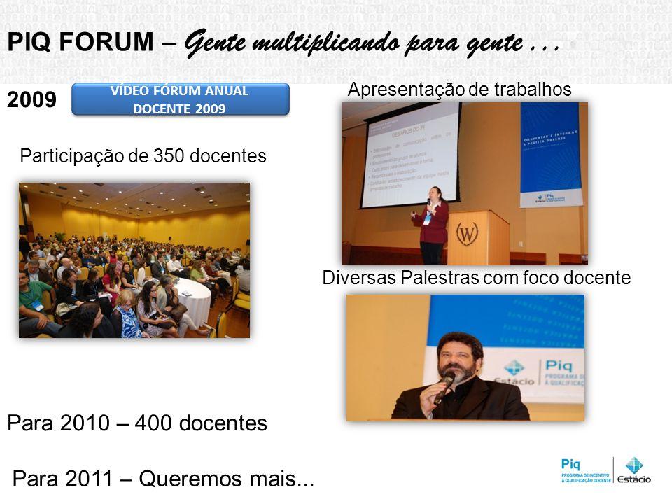 VÍDEO FÓRUM ANUAL DOCENTE 2009