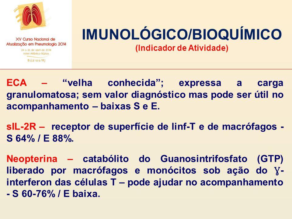 IMUNOLÓGICO/BIOQUÍMICO (Indicador de Atividade)