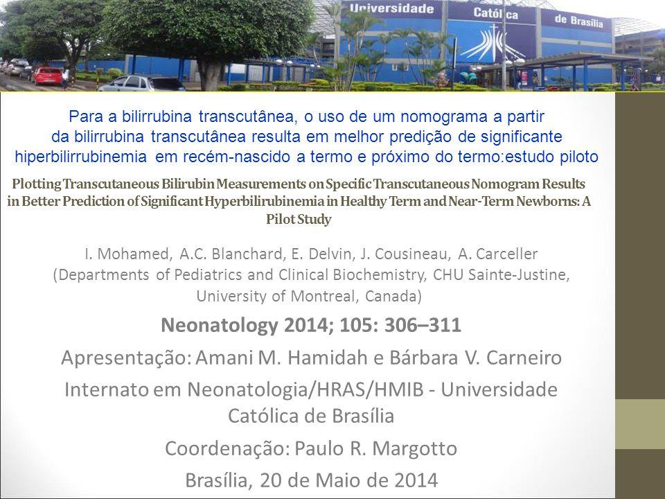 Apresentação: Amani M. Hamidah e Bárbara V. Carneiro