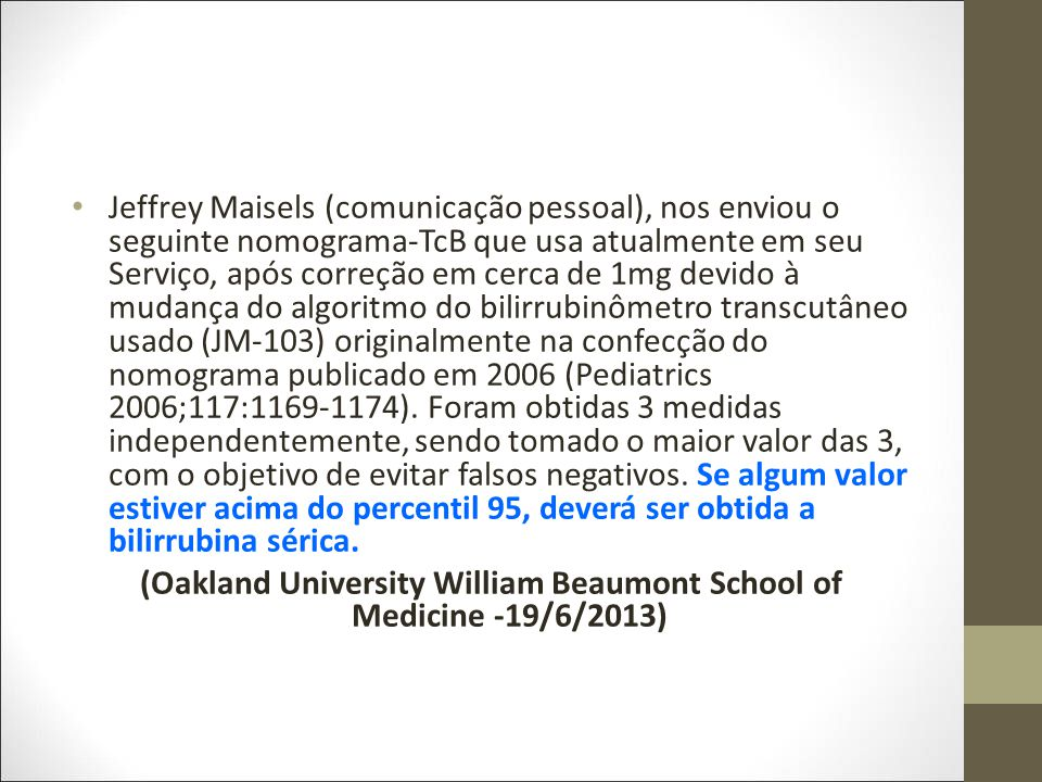 (Oakland University William Beaumont School of Medicine -19/6/2013)