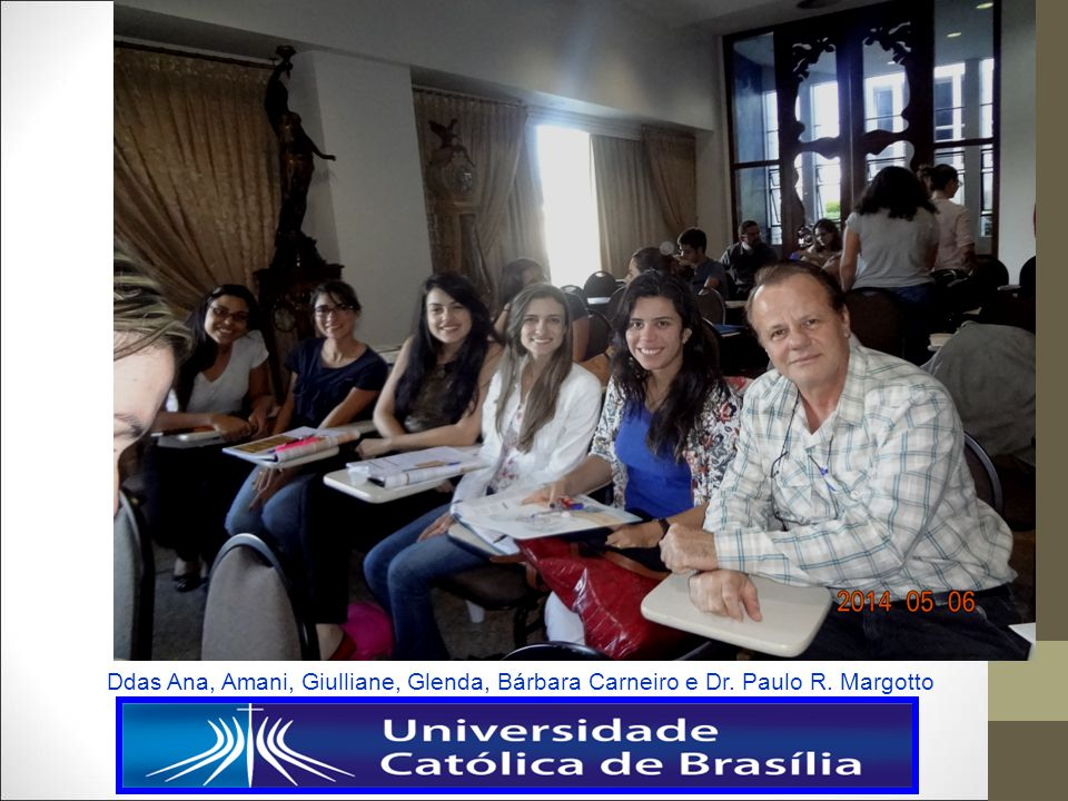 Ddas Ana, Amani, Giulliane, Glenda, Bárbara Carneiro e Dr. Paulo R