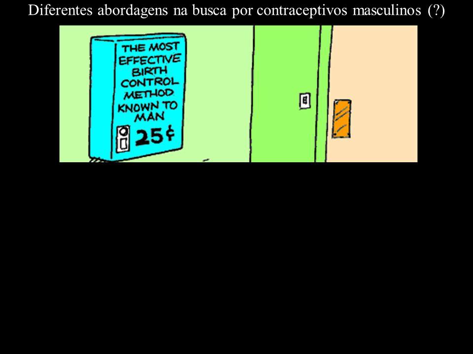 Diferentes abordagens na busca por contraceptivos masculinos ( )