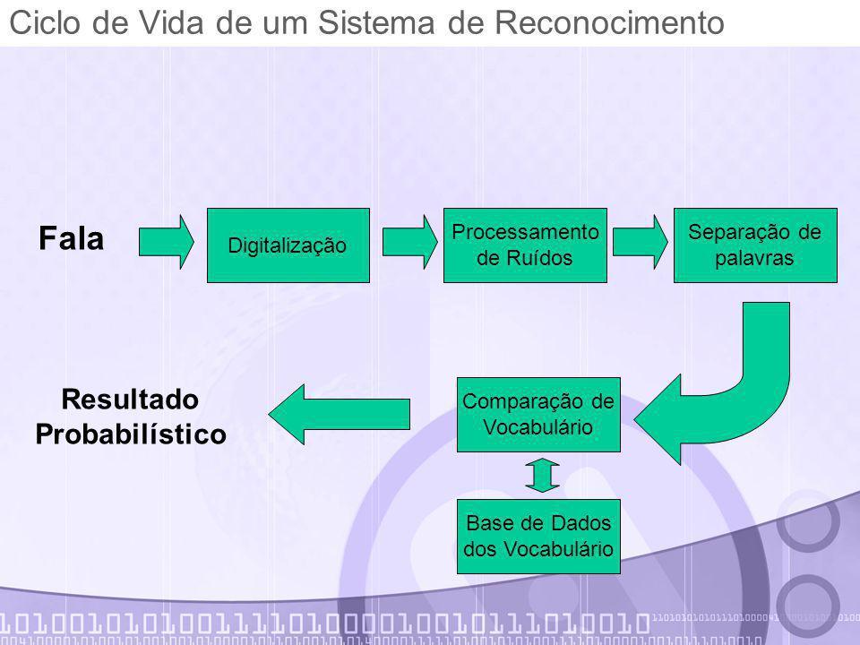 Ciclo de Vida de um Sistema de Reconocimento
