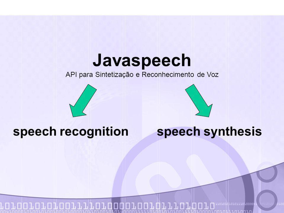 API para Sintetização e Reconhecimento de Voz
