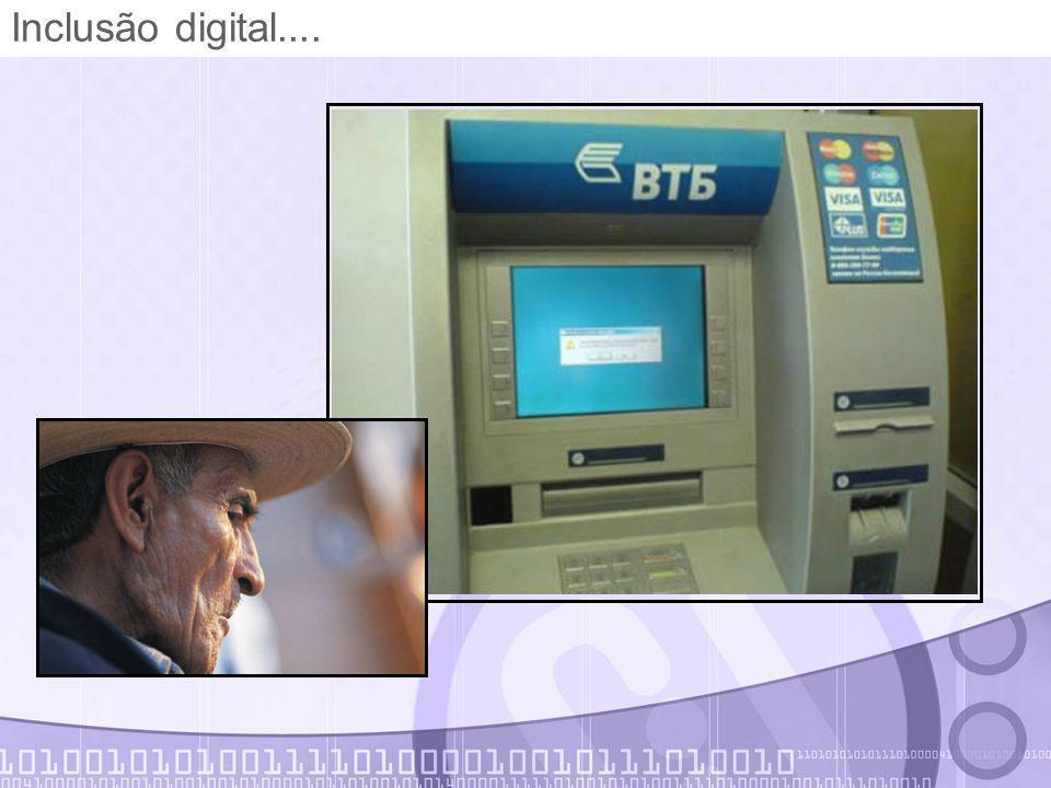 Inclusão digital....