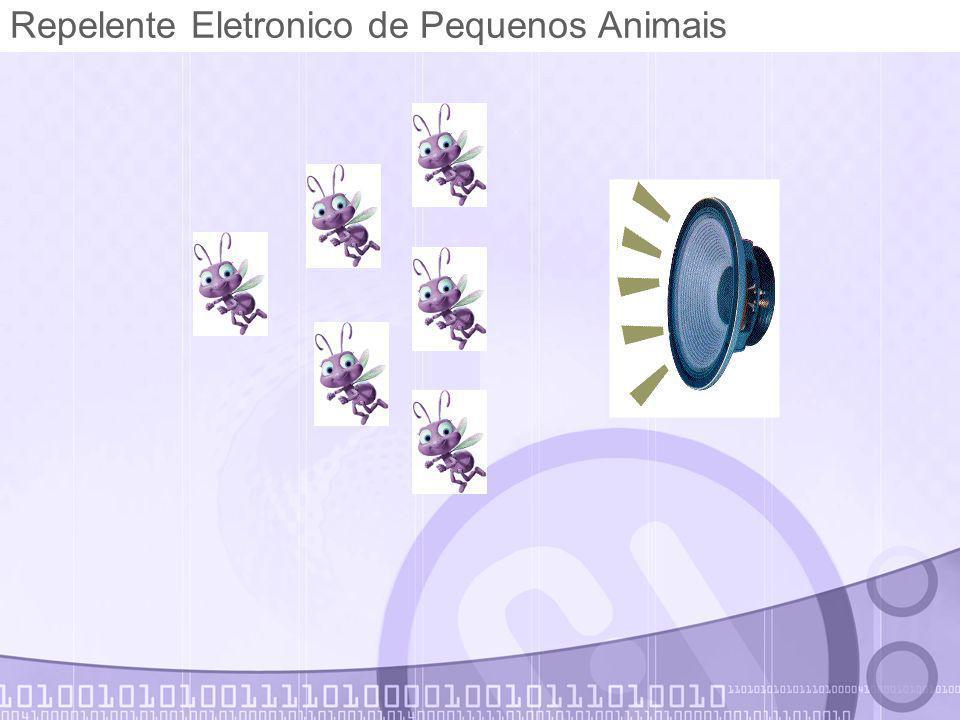 Repelente Eletronico de Pequenos Animais