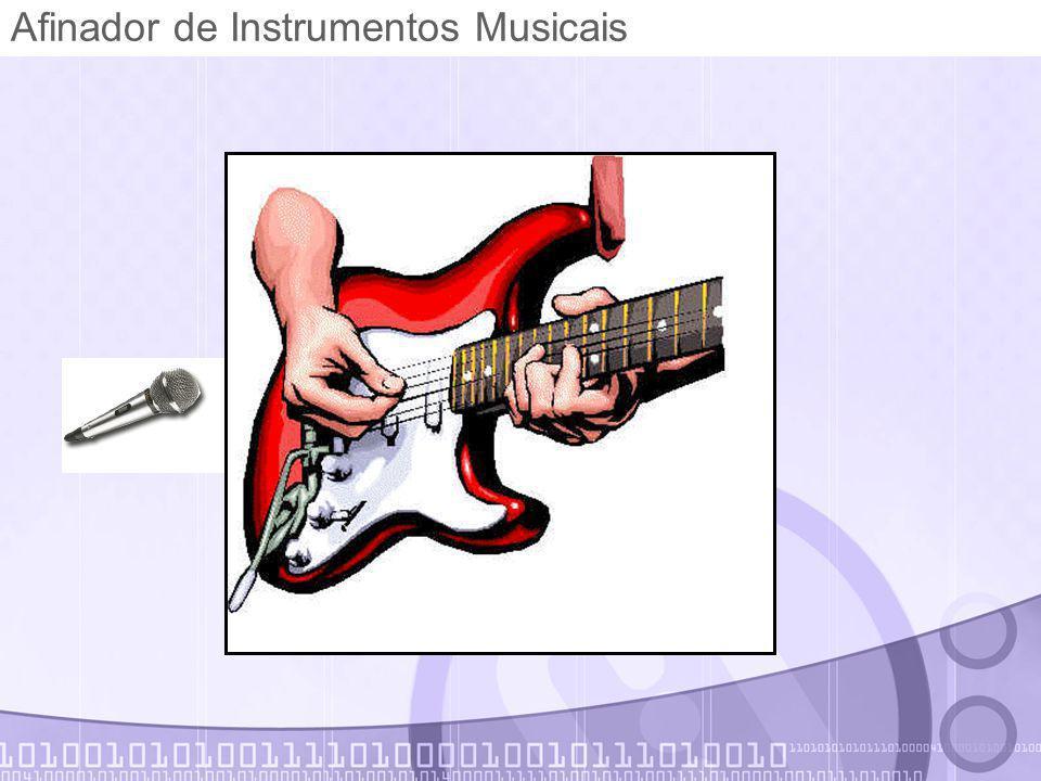 Afinador de Instrumentos Musicais