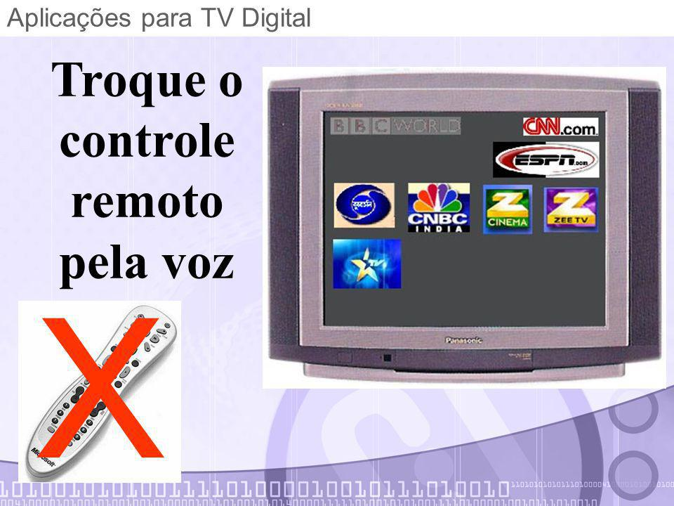 Aplicações para TV Digital