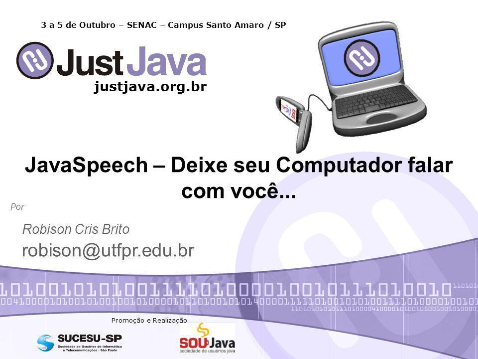 JavaSpeech – Deixe seu Computador falar com você...