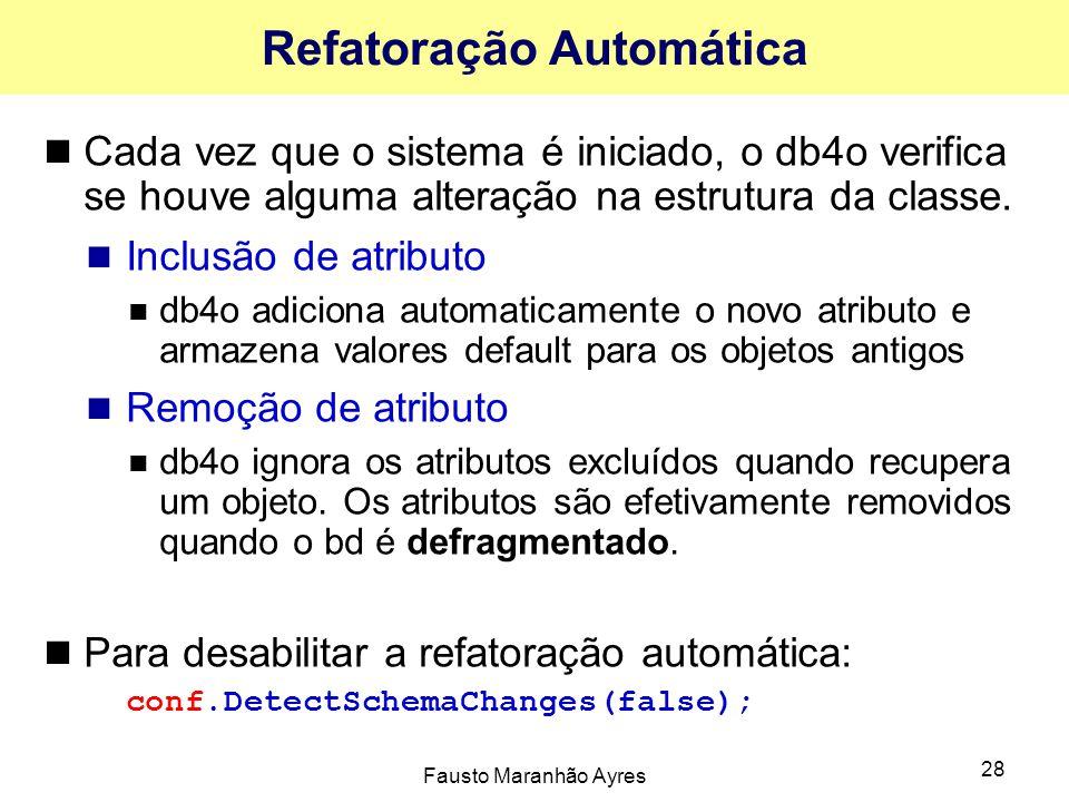 Refatoração Automática